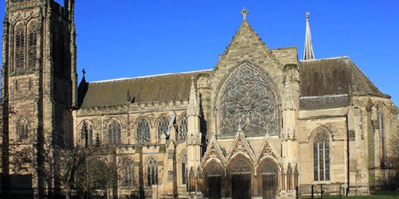 The parish church for Leamington Spa.