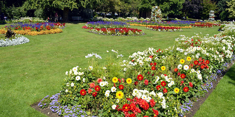 Jephson Park offers an oasis of peace and tranquility right in the heart of Leamington Spa.