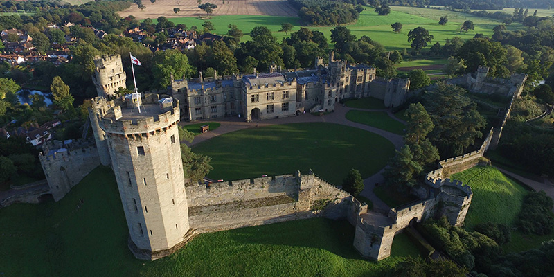 You may take an entire day to take in the majesty of Warwick Castle!