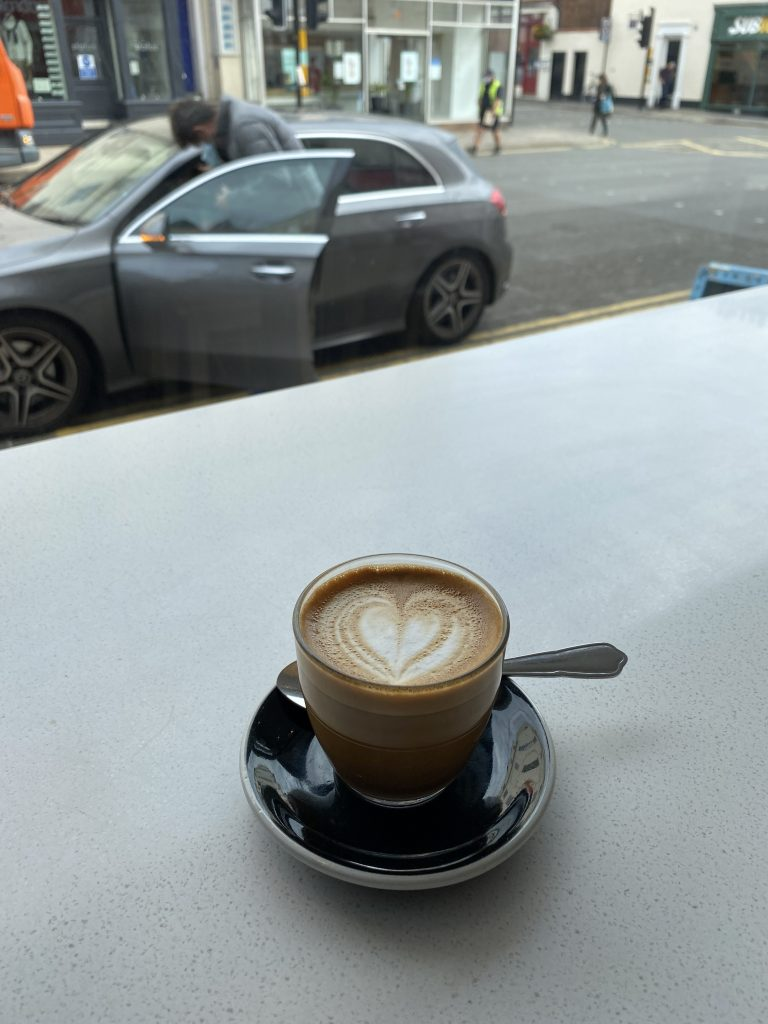Spa town coffee Leamington Spa