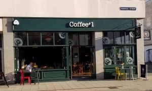 Coffee#1 on warwick street next door to our escape room, experimental escape in leamington spa
